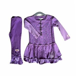 Naartjie Dress & Pant Set (2T) like new condition
